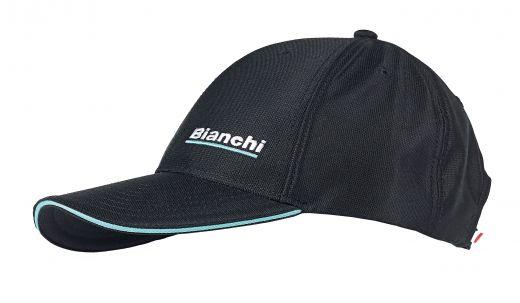 T-shirt Bianchi Cafè & cycles nera