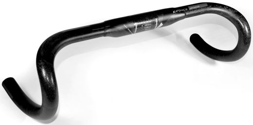 FSA K-FORCE Carbon Compact Handlebar black mate