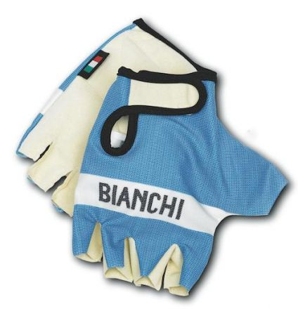 Bianchi Classic - Summer Gloves light blue