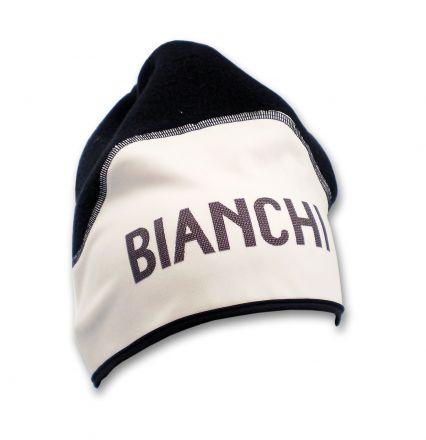 Bianchi Classic - Wintermütze weiß/schwarz