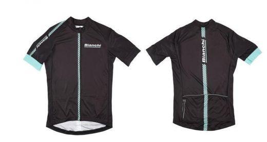 Bianchi Hexagon  - Jersey - nero