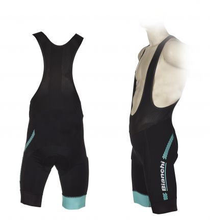 Bianchi Hexagon - Bibshort - black