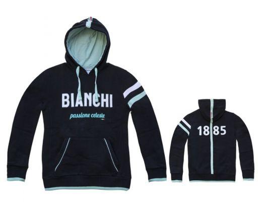 Bianchi Hoodie 1885 navy-blau