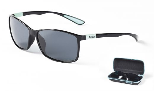 Bianchi LIGHT - Sunglasses celeste/black