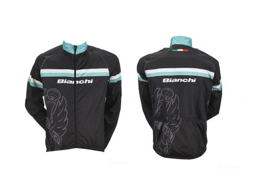 Bianchi Sport Line Man - Wind Jacket black