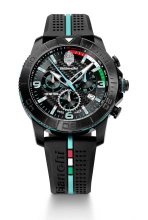 Bianchi Swiss Made - Chrono 43mm - black