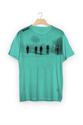 T-shirt Bianchi CALIFORNIA  CELESTE