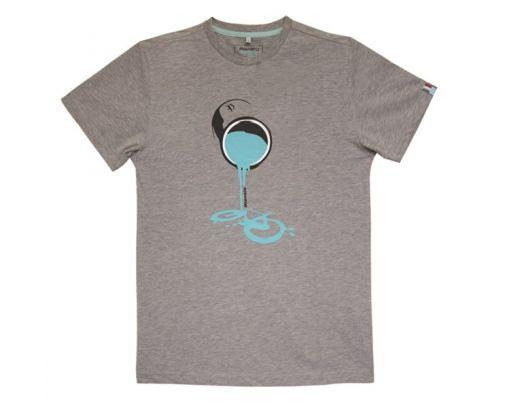 T-shirt Bianchi BARATTOLO grey melange