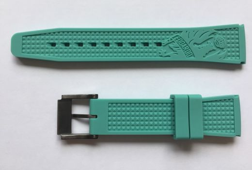 Bianchi Watch Strap Chrono - celeste