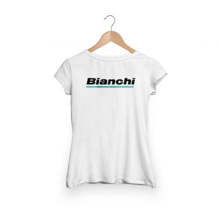 Bianchi Official T-Shirt - Lady - Weiss