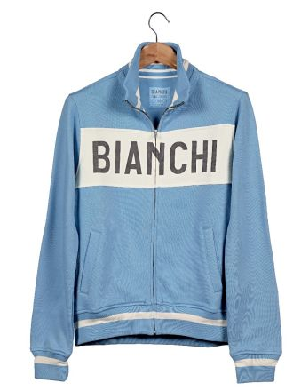 Bianchi Vintage Collection Sweatshirt - Gent - Clear Blue