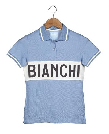 Bianchi Vintage Collection Polo - Lady - Clear Blue