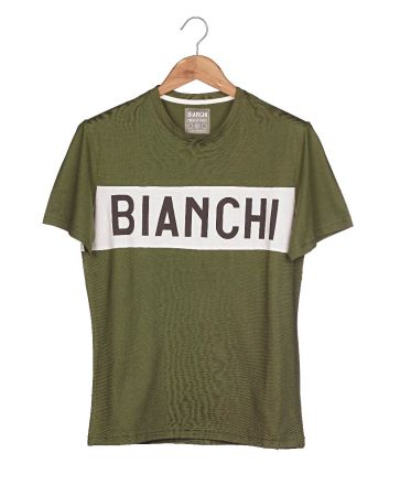 Bianchi Vintage Collection T-shirt - Gent - Military Green