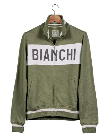 Bianchi Vintage Collection Sweatshirt - Gent - Military Green