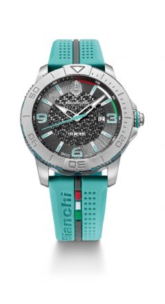 Bianchi Swiss Made - Three Hands 38mm - celeste