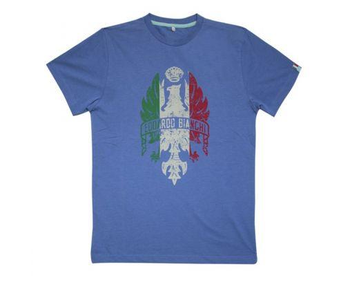 T-Shirt uomo Bianca c/log