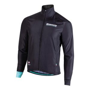 Bianchi Reparto Corse - LONG SLEEVE WIND JACKET - BLACK