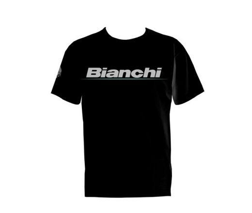 T-Shirt donna Nera c/logo  Mis. XS-S-M-L-XL-2XL