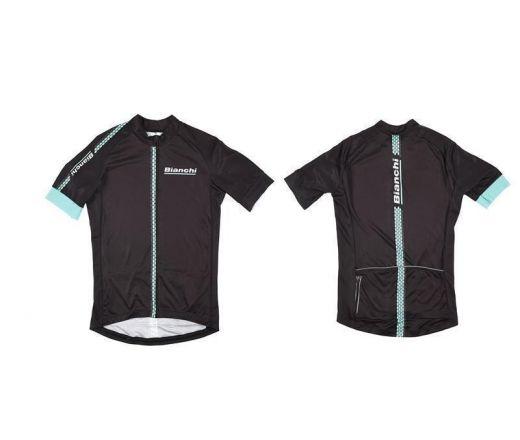 Bianchi Hexagon  - Jersey - black
