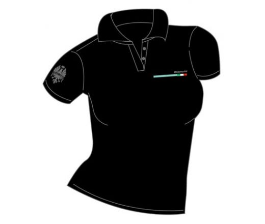 Bianchi Official Polo Shirt Lady black