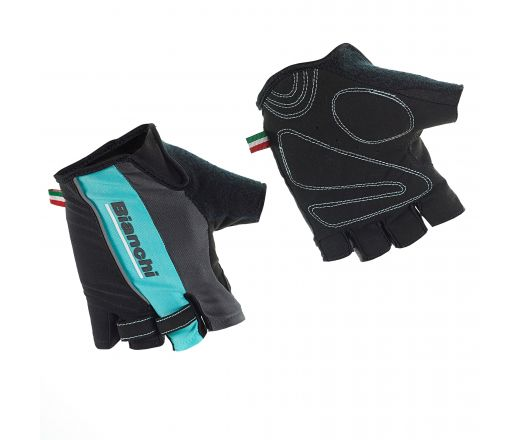 Bianchi Sport Line Man Glove - black/celeste