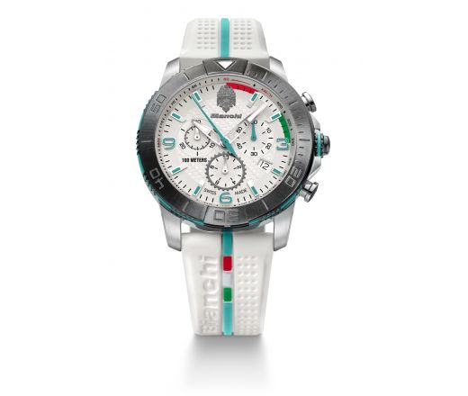 Bianchi Swiss Made - Chrono 43mm - white