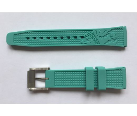Bianchi Watch Strap Uni 38mm - celeste